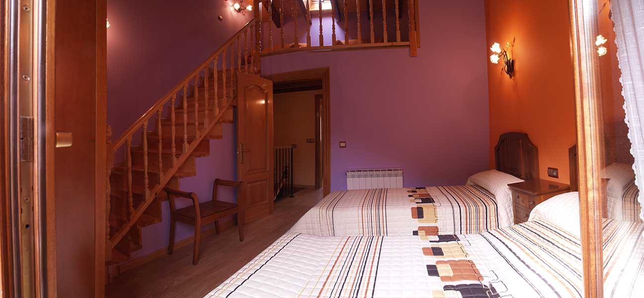 Casa Rural Gaztelubidea-Habitación