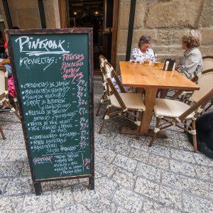 Casa Rural Gaztelubidea. Euskadi. Pintxos en Donostia