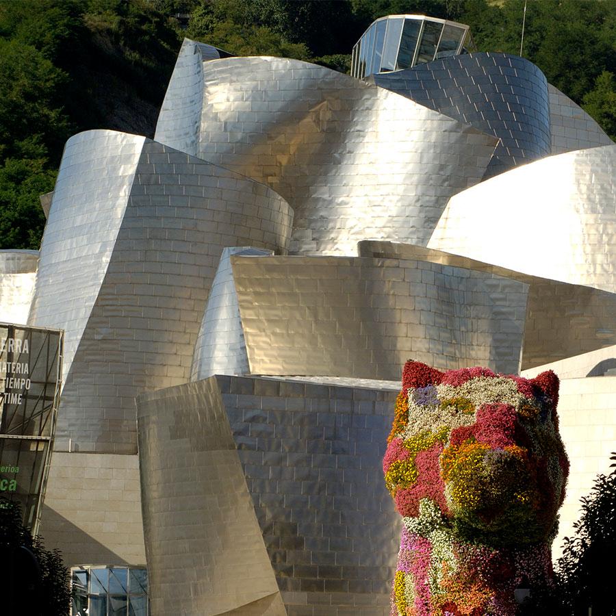 Casa Rural Gaztelubidea. Euskadi. Museo Guggenheim Bilbao. Licencia Creative Commons 'CC BY-3.0-ES 2012/EJ-GV/Irekia-Gobierno Vasco/Mikel Arrazola'