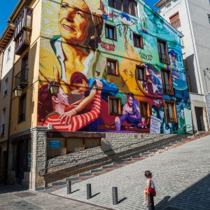 Casa Rural Gaztelubidea. Vitoria-Gasteiz. Itinerario muralístico
